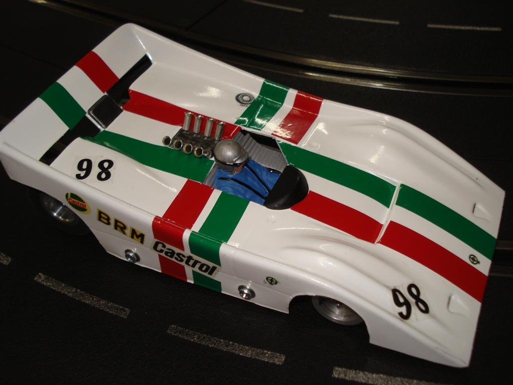 BRM 154 Can Am by Scribano