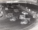 1975 - Vista della pista Scalextric in Via Madama To