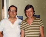 1983 Ken McDowell Mr.Parma visita la sede ECA al CRE
